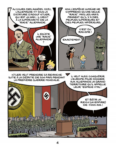 Page 4 Le fil de l'histoire raconté par Ariane & Nino - 1939-1945 - L'allemagne nazie