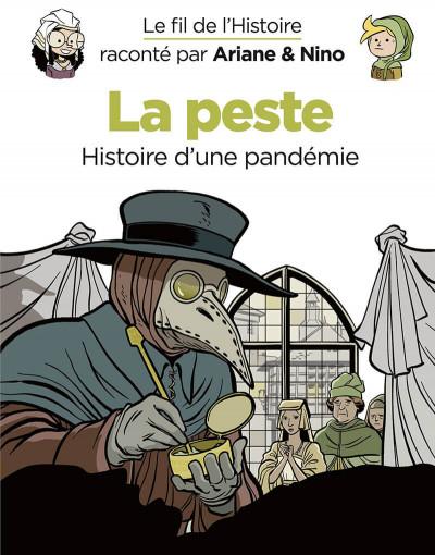 Couverture Le fil de l'Histoire raconté par Ariane & Nino tome 36