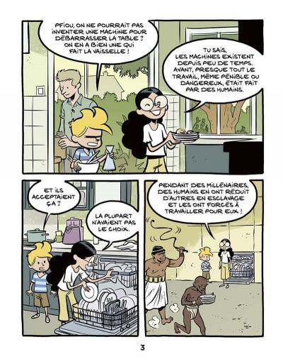 Page 3 Le fil de l'histoire raconté par Ariane & Nino tome 37 - L'esclavage