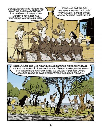 Page 4 Le fil de l'histoire raconté par Ariane & Nino tome 37 - L'esclavage