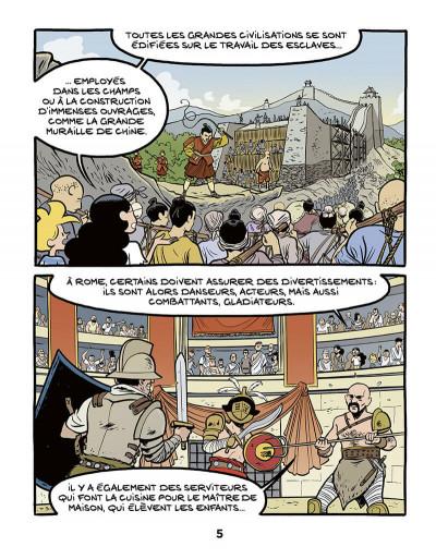 Page 5 Le fil de l'histoire raconté par Ariane & Nino tome 37 - L'esclavage