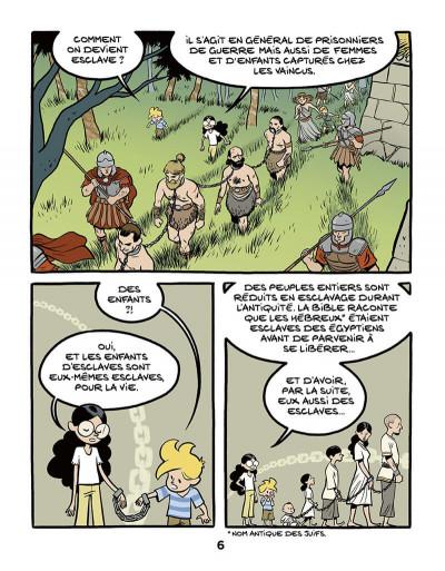 Page 6 Le fil de l'histoire raconté par Ariane & Nino tome 37 - L'esclavage