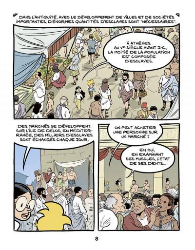 Page 8 Le fil de l'histoire raconté par Ariane & Nino tome 37 - L'esclavage
