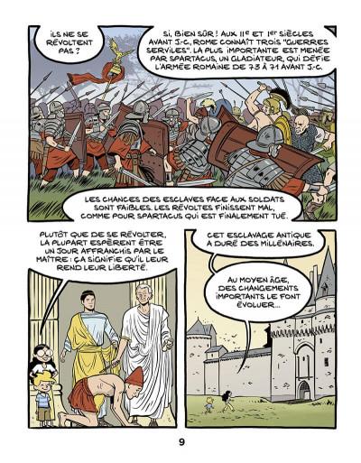 Page 9 Le fil de l'histoire raconté par Ariane & Nino tome 37 - L'esclavage