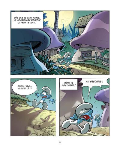 Page 9 Le schtroumpf qui avait peur du noir
