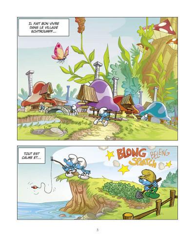 Page 4 Le schtroumpf qui était maladroit