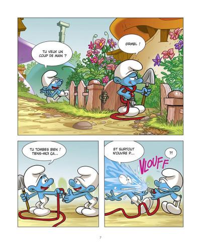 Page 8 Le schtroumpf qui était maladroit