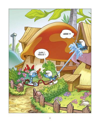 Page 9 Le schtroumpf qui était maladroit