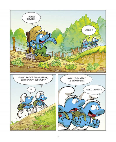Page 5 Grandir avec les Schtroumpfs tome 7