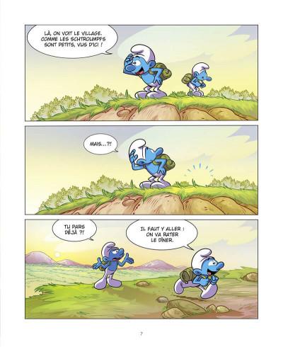 Page 8 Grandir avec les Schtroumpfs tome 7