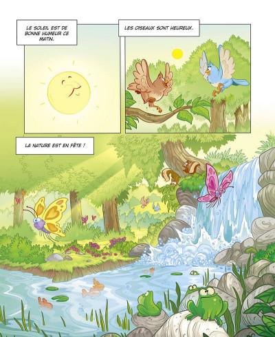 Page 4 Grandir avec les Schtroumpfs tome 8