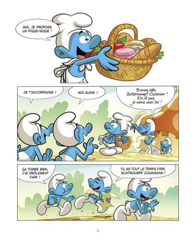 Page 7 Grandir avec les Schtroumpfs tome 8
