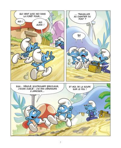 Page 8 Grandir avec les Schtroumpfs tome 8