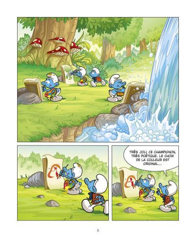 Page 9 Grandir avec les Schtroumpfs tome 8