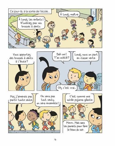 Page 3 Les inséparables tome 4
