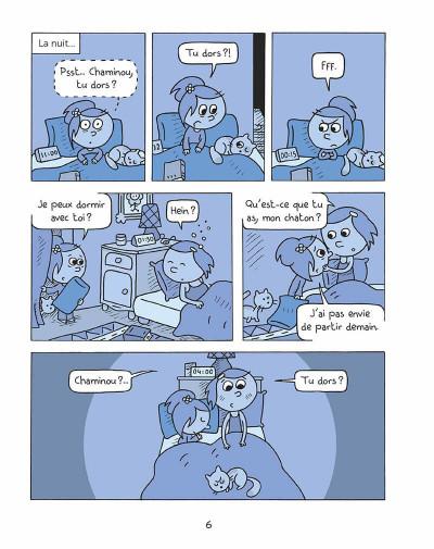 Page 5 Les inséparables tome 4