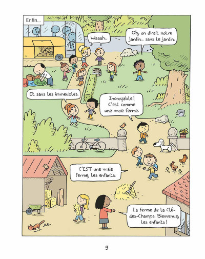 Page 8 Les inséparables tome 4