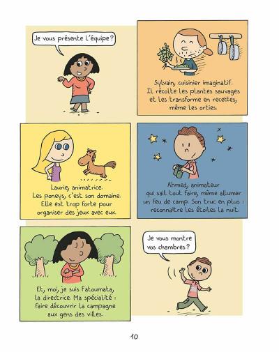 Page 9 Les inséparables tome 4