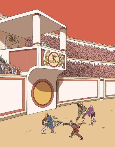 Page 5 Gladiateurs - Naissance d'un combattant au temps de Rome