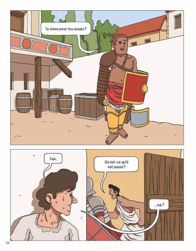 Page 9 Gladiateurs - Naissance d'un combattant au temps de Rome