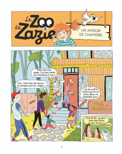 Page 4 Le zoo de Zazie tome 1