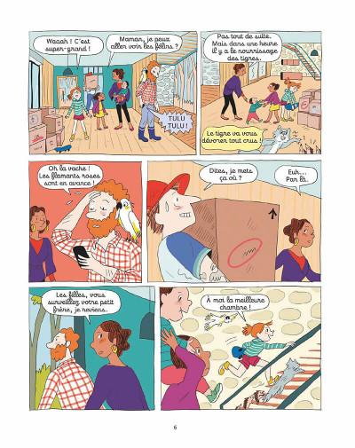 Page 5 Le zoo de Zazie tome 1