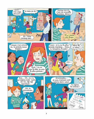 Page 7 Le zoo de Zazie tome 1