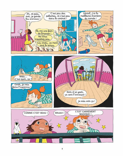 Page 8 Le zoo de Zazie tome 1