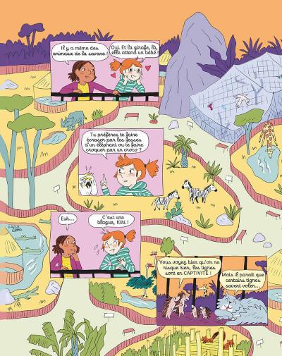 Page 9 Le zoo de Zazie tome 1