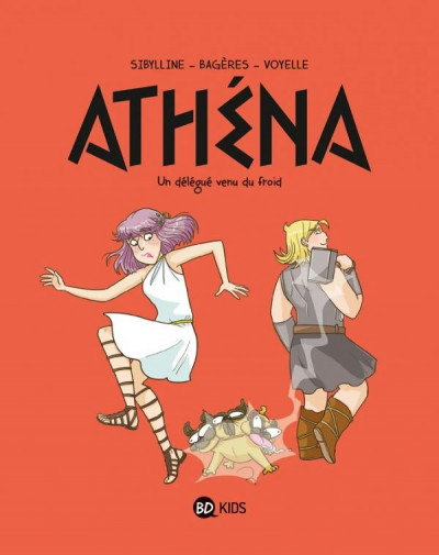 Couverture Athéna tome 3