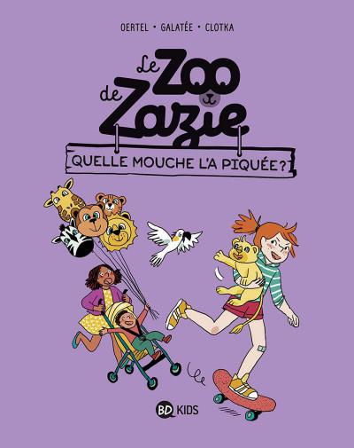 Couverture Le zoo de Zazie tome 2