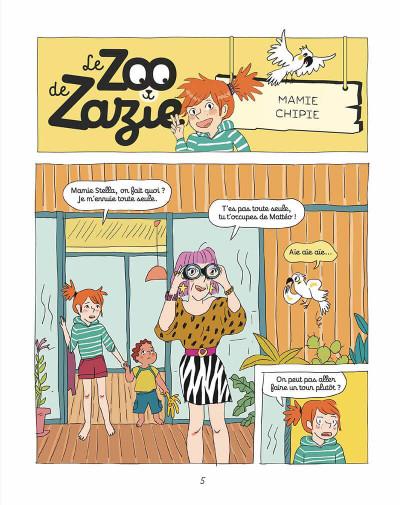 Page 4 Le zoo de Zazie tome 2