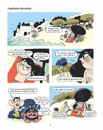 Page 3 Tilda sur les toits tome 2