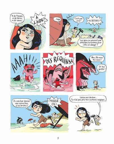 Page 4 Tilda sur les toits tome 2