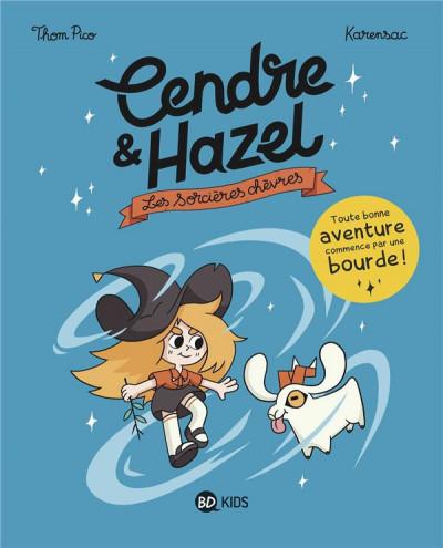 Couverture Cendre et Hazel tome 1