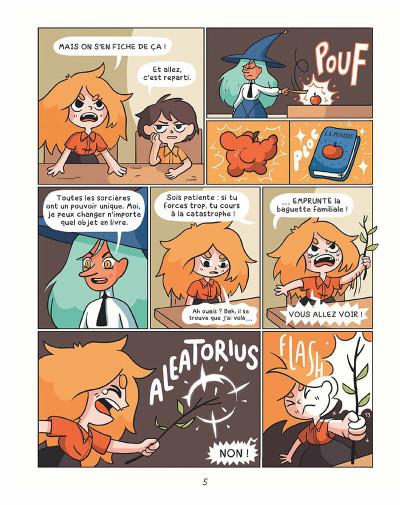 Page 4 Cendre et Hazel tome 1