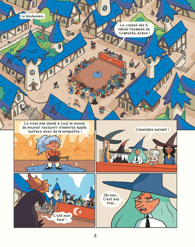 Page 7 Cendre et Hazel tome 1