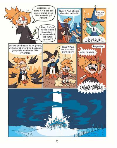 Page 9 Cendre et Hazel tome 1