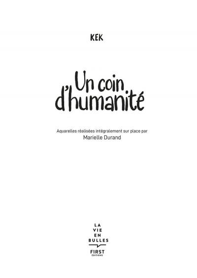 Page 3 Un coin d'humanité