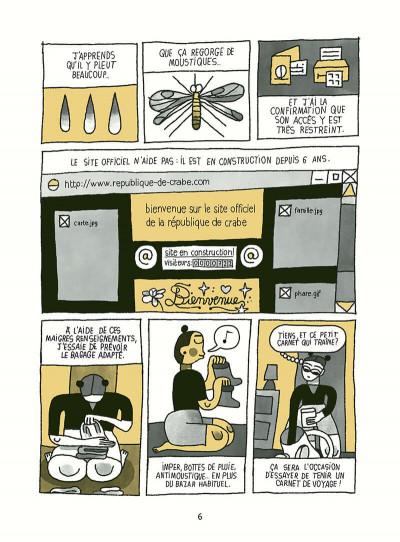 Page 6 Voyage en république de crabe