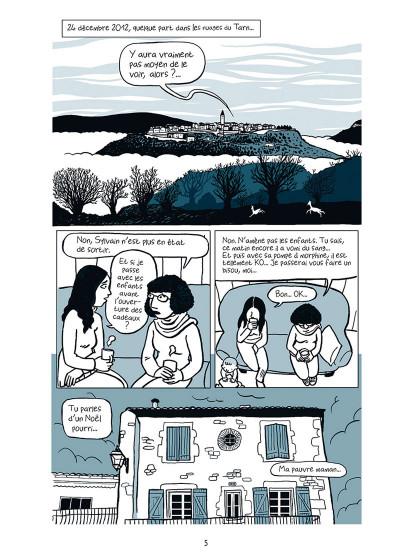 Page 1 sous les bouclettes