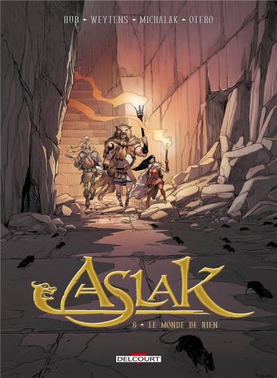 Couverture Aslak tome 6