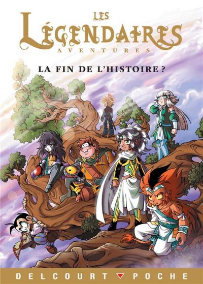 Couverture Les légendaires aventures - la fin de l'histoire ? (roman)