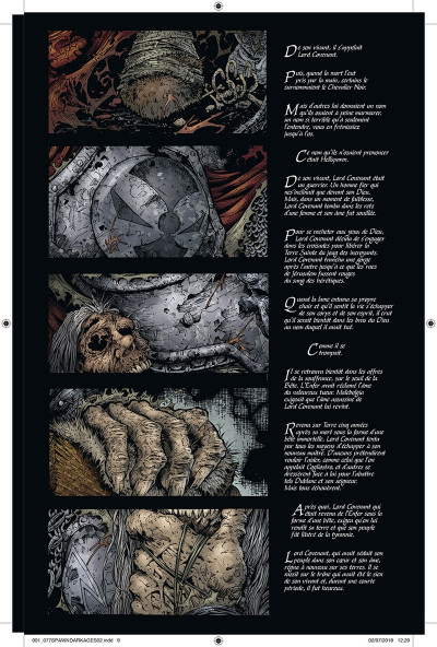 Page 3 Spawn dark ages - intégrale tome 2