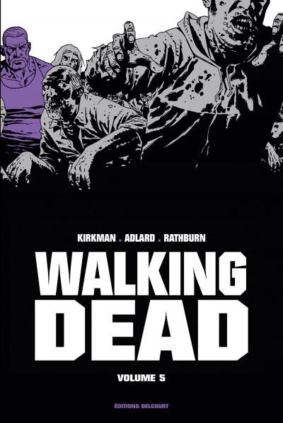 Couverture Walking dead - prestige tome 5