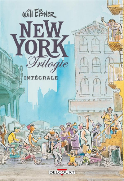 Couverture Will Eisner - intégrale tome 1 - New York trilogie