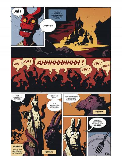 Page 0 Hellboy deluxe tome 2 - Le cercueil enchaîné et La main droite de la mort