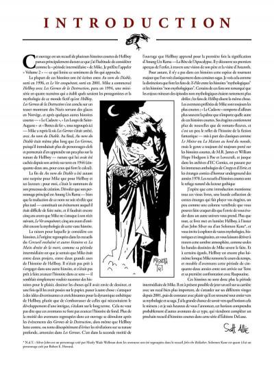 Page 3 Hellboy deluxe tome 2 - Le cercueil enchaîné et La main droite de la mort