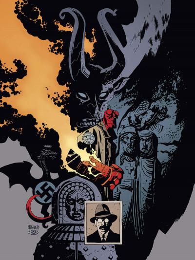 Page 5 Hellboy deluxe tome 2 - Le cercueil enchaîné et La main droite de la mort