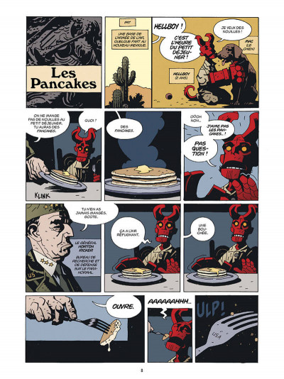 Page 9 Hellboy deluxe tome 2 - Le cercueil enchaîné et La main droite de la mort